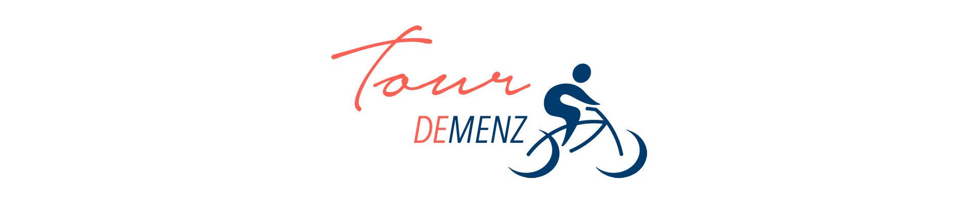 Schriftzug Startseite Tour Demenz